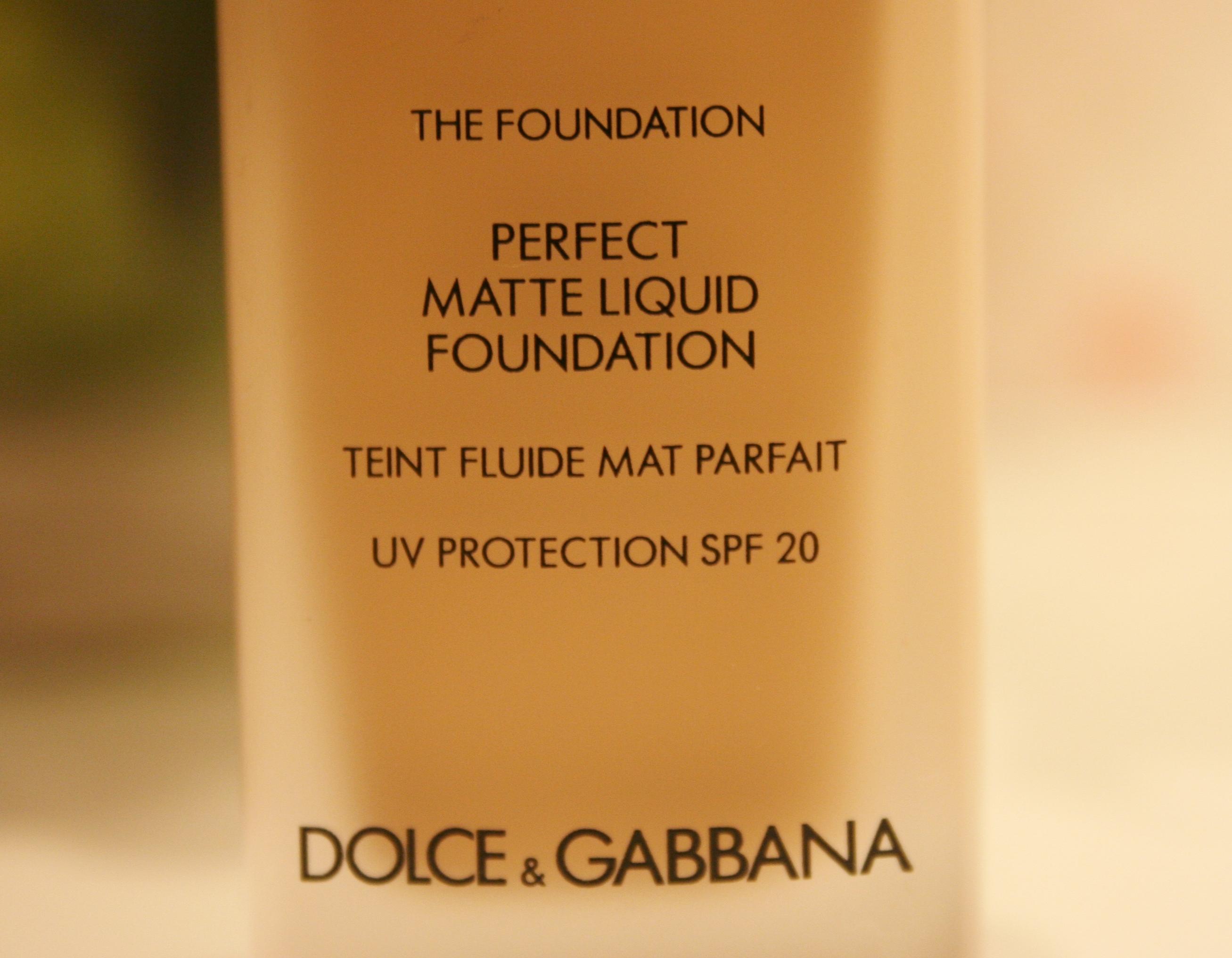 c5a2ac14439a1 Dolce   Gabbana NEW Perfect Matte Liquid Foundation Review ...